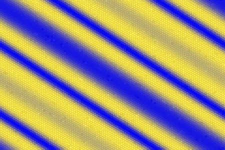diagonal stripes: Illustration of dark blue and yellow diagonal stripes mosaic