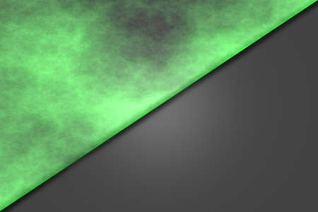 smoky: Green diagonal smoky background with light relief