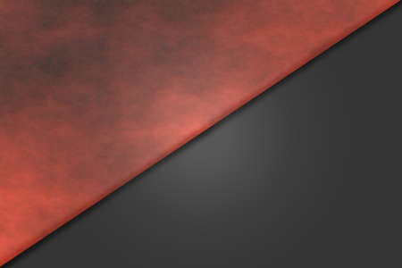 smoky: Red diagonal smoky background with light relief Stock Photo