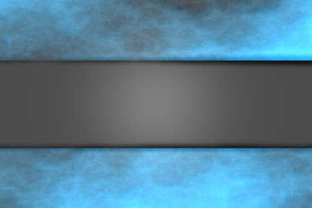 fume: Blue smoky frame with light relief