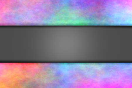 smoky: Multicolor smoky frame with light relief