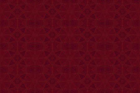 plural: Illustration of red and black ornamental pattern Stock Photo