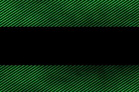 smoky: Illustration of a green smoky frame with diagonal stripes