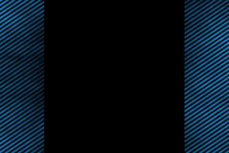 smoky: Illustration of a blue smoky side frame with diagonal stripes