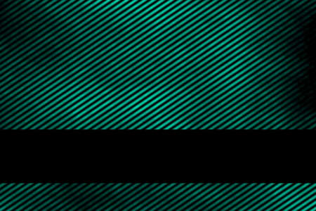 smoky: Illustration of a cyan smoky background with banner and diagonal stripes Stock Photo