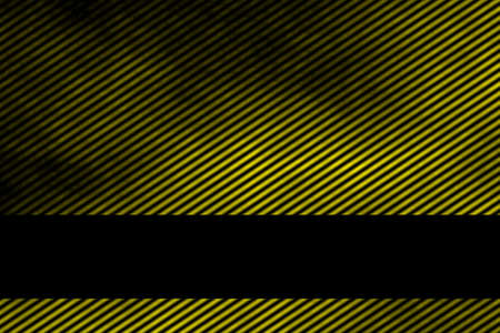 smoky: Illustration of a yellow smoky background with banner and diagonal stripes