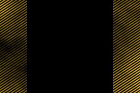 smoky: Illustration of a yellow smoky side frame with diagonal stripes