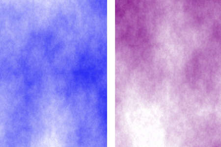 the divided: Illustration of a dark blue and purple divided white smoky background