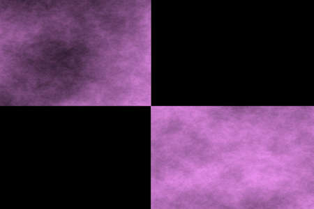 pink and black: Black background with two pink rectangles