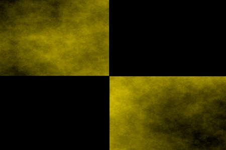 rectangles: Black background with two yellow rectangles
