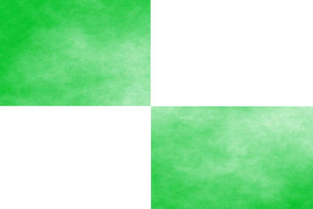 rectangles: White background with two green rectangles