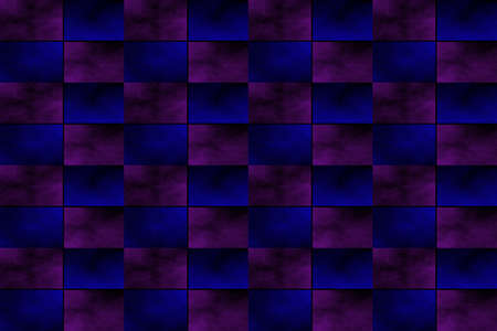 fumes: Illustration of an abstract purple and dark blue chessboard