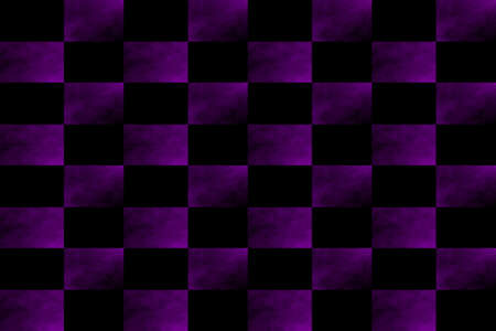 fume: Illustration of an abstract purple and black chess board