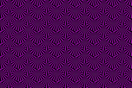 Illustration of Several purple and black rays Imagens