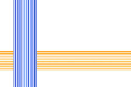 dark blue: White background with dark blue and orange lines