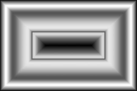 Illustration of an abstract metalic frame