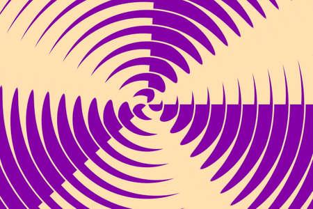 turbine engine: Illustration of a purple and vanilla colored rotating propeller Illustration