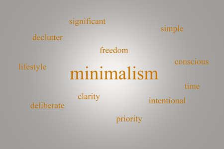 오렌지 word와 회색 배경에 infographic 약 minimalism의 그림