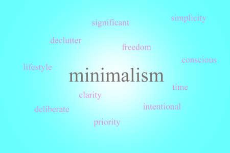 핑크 단어와 파란색 배경에 infographic 약 minimalism의 그림 스톡 콘텐츠
