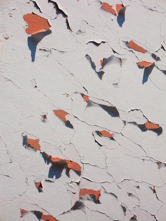 scraped: A scraped off wall in Burano, Venice
