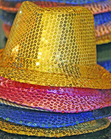 with bright colored hats for an unforgettable holiday Stock Photo - 8528666
