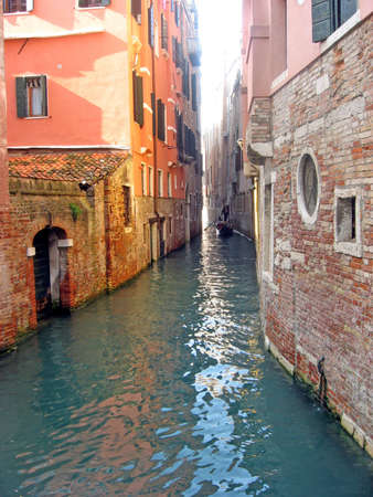 narrow channel of water for navigation in venice Stock Photo - 8757500