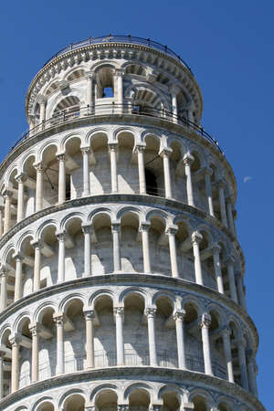 pending: famous leaning tower of Pisa the symbol of Italy