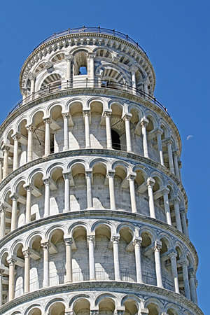 pending: Leaning Tower of Pisa on Piazza dei Miracoli Stock Photo