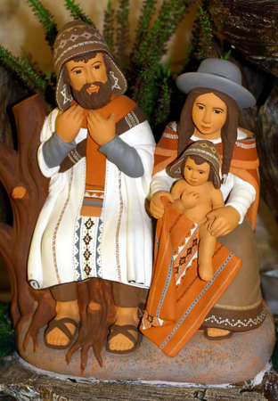 Mary and Joseph and the birth of Jesus at Christmas 013 photo