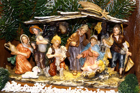 Mary and Joseph and the birth of Jesus at Christmas 015 photo