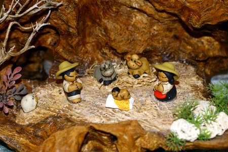 Mary and Joseph and the birth of Jesus at Christmas 016 photo