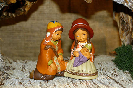 Mary and Joseph and the birth of Jesus at Christmas 017 photo