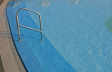 aquifer: blue water of the swimming pool for swimming competitions