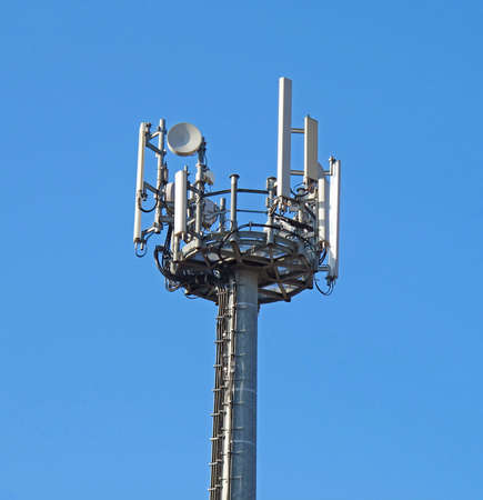 parable: Antenna repeater to transmit the signal of mobile phones