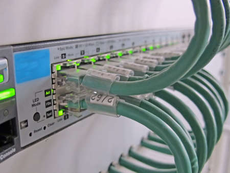 jacks: telecommunication cables for computer certificates on the ethernet jacks