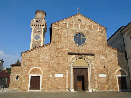 felice: The Church of San Felice and Fortunato in Vicenza in Italy Stock Photo