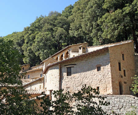 Convent Eremo delle Carceri of Saint Francis in Assisi photo