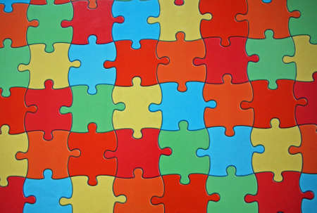cast off: colored puzzle pieces of a complicated game