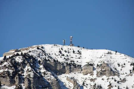 forte: antennas and repeaters to campo Molon above Tonezza del Cimone