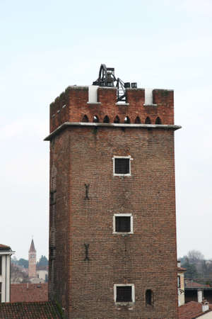 mighty medieval tower old used as prisons for burglars Stock Photo - 18409669