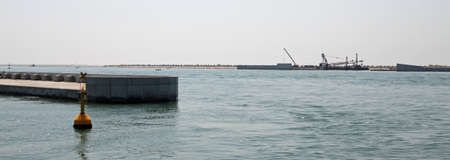 Dam called MOSE PROJECT in the Adriatic Sea near Venice 06 photo