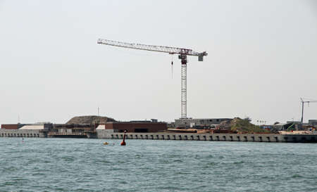 Dam called MOSE PROJECT in the Adriatic Sea near Venice 11 photo