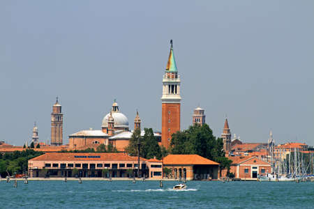 historic Bell Tower of the Church of San Giorgio in Venice Stock Photo - 22557614