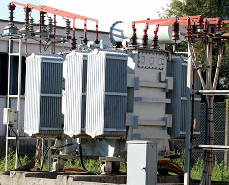electric current: electric current transformer out of a hydro-electric power generation