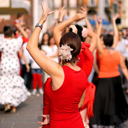 flamenco dancers expert and Spanish dance photo