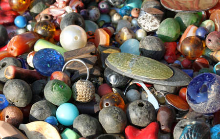 pendants for necklaces decorations handmade by a african craftsman photo