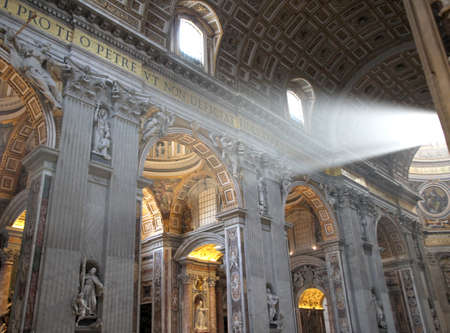 st  peter's basilica pope: the Church of San Pietro Editorial