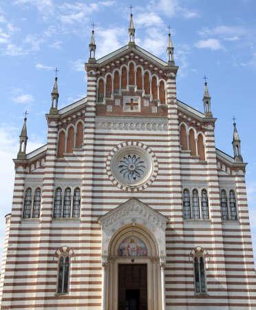 episcopal: Huge church of piazzola sul Brenta in Italy