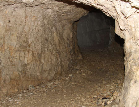 gallerie: ancient underground fortifications used during the first world war in the mountains
