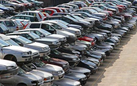 consumerist: many cars broken in the landfill of car demolition